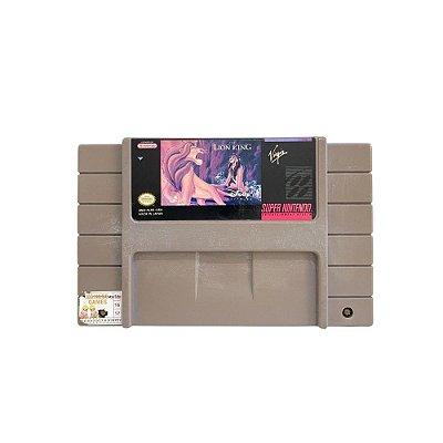 Fita Cartucho O Rei Leão Super Nintendo SNES