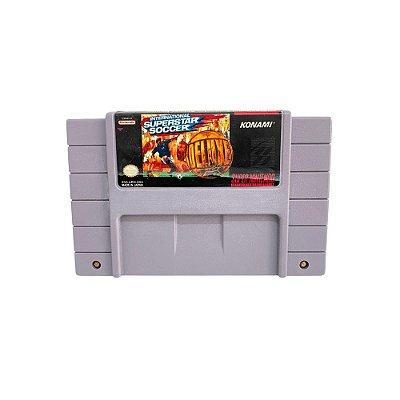 Fita Cartucho International Super Star Soccer Delux Super Nintendo SNES