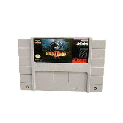 Fita Cartucho Mortal Kombat II Super Nintendo SNES