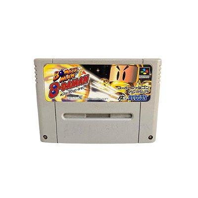 Fita Cartucho Bomberman B-Daman Super Nintendo Super Famicom