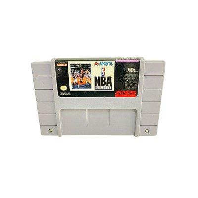 Fita Cartucho NBA Showdown Super Nintendo SNES