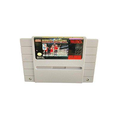 Fita Cartucho Super NBA Basketball Super Nintendo SNES