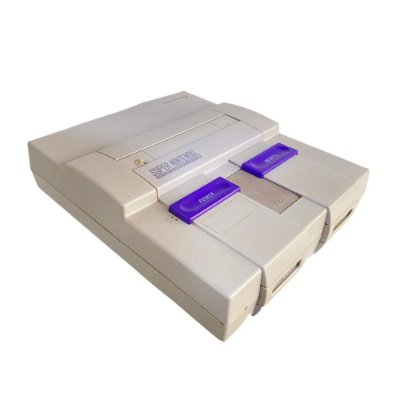 Console Super Nintendo SNES Original 1 Controle + Brinde Fita Final Fight