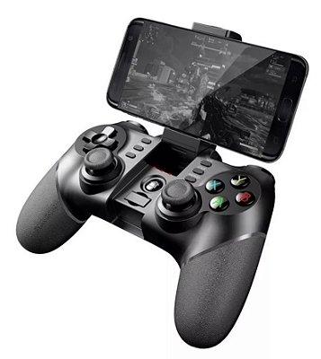 Controle Bluetooth Ipega PG-9076 com Dongle USB para RAGBOX, Celular, TV BOX, Android,