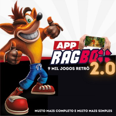 App RAGBOX 2.0 - 9 Mil Jogos Retrô para Celular Android ou TV BOX