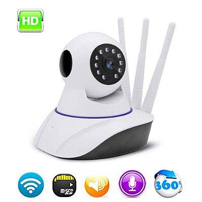 Câmera IP Wi-Fi 3 Antenas