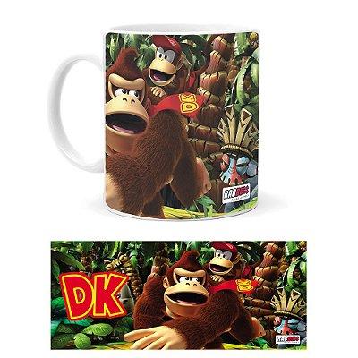 Caneca de Porcelana Donkey Kong
