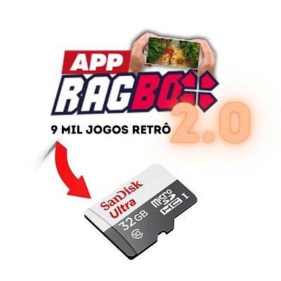 App RAGBOX + Cartão de Memória 32gb (INSTALADO)