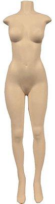 Manequim Plástico Feminino - Sem Cabeça - R.90, K90, P90
