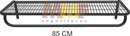 Prateleira com Cabideiro - 85 x 40 cm