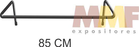 Cabideiro Fixo de Parede - 85 x 40 cm