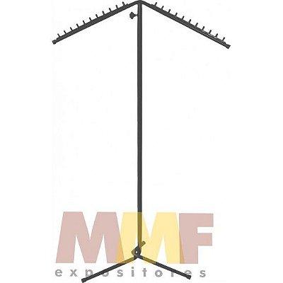 Arara 2 Frentes C/ Regulagem - 80 x 130 até 155 cm