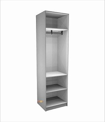 Closet Prateleira Cabideiro - 60 x 222 cm