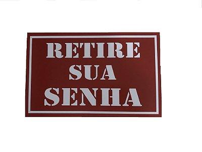 Placa Retire