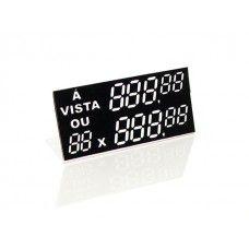 Etiqueta C/ Digito - 55 mm x 25 mm - Pct 50 Unid.