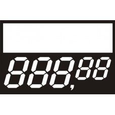 Etiqueta Preço Digital - 34 mm x 22 mm - Pct 50 Unid.