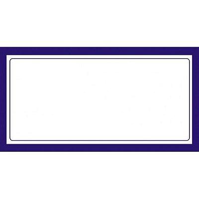 Etiqueta Preço Sem Digito - 70 mm x 37 mm - Pct 50 Unid
