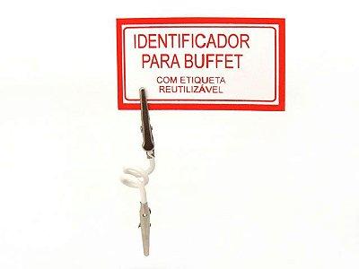 Identificador para Buffet - Jacaré Duplo