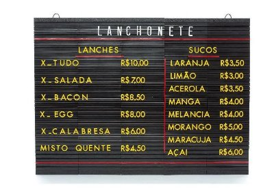Tabela Letrex Plus 516mm x 700mm