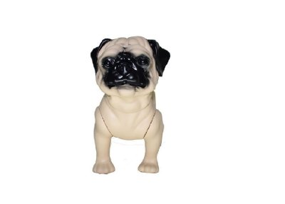 Manequim Plástico - Cachorro P/ Pet Shop (Pug)