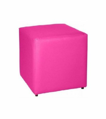 Puff Quadrado Pink - 35 x 45 cm
