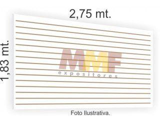 Chapa Inteira Painel Canaletado - 2,75 x 1,83 cm