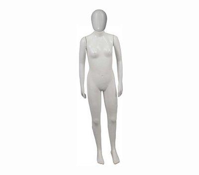 Manequim Plástico R.3870 Feminino Branco