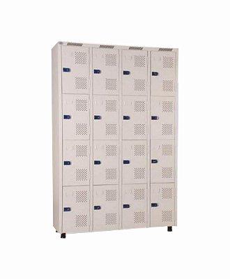 Roupeiro 16 Portas - 125 x 198 x 42 cm