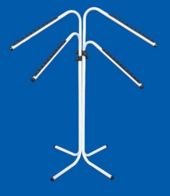 Araras 4 Braços Altura Regulável - 103 x 105 até 138 cm