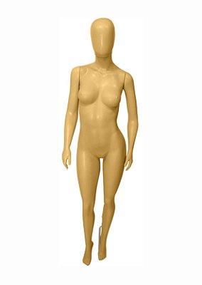 Manequim Plástico R.8091R Feminino Bege Com Cabeça
