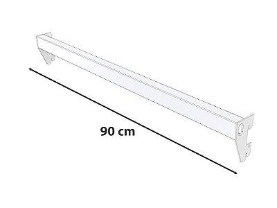Barra Reta Branca - 90 cm
