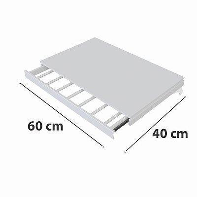 Calceiro Retrátil com Closet - 60 x 40 cm