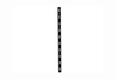 Cremalheira Dupla Preta 15 mm - 198 cm
