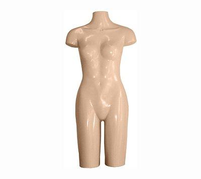 Manequim Plástico R.55 Feminino Bege
