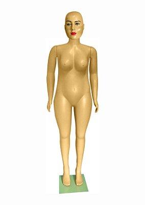Manequim Plástico R.4960 Feminino Mulher Gorda