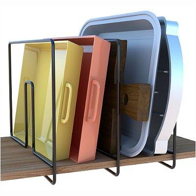 Separador De Prateleiras E Formas Elegance -  25 x 8 x 20 cm