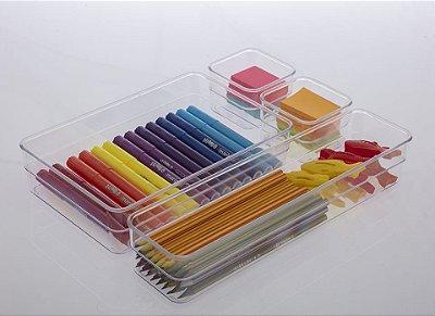 Organizador Diamond - 22,5 x 5,2 x 15 cm