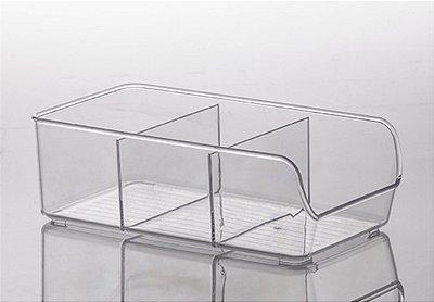Organizador Diamond Com Divisórias - 28 x 9 x 14 cm