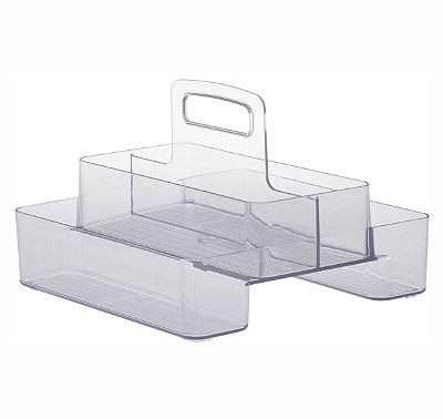 Organizador Diamond Com Alça Dupla - 24 x 18 x 24 cm
