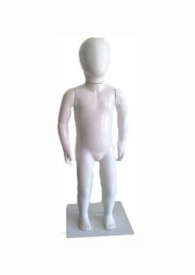 Manequim Plástico R.4269 Ovo Unissex Branco