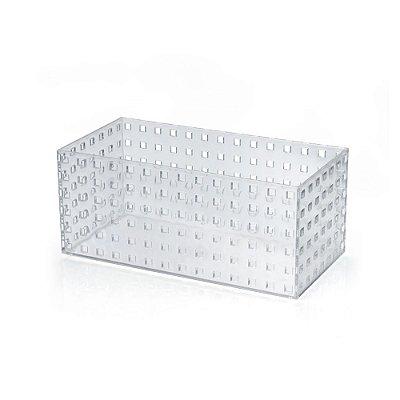 Caixa Modular 5 Em Ps Cristal - 14 x 12 x 28 cm