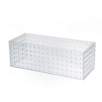 Caixa Modular 6 Em Ps Cristal - 14 x 12 x 35 cm