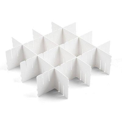 Conjunto Com 4 Organizadores de Gavetas - 10 x 40 cm