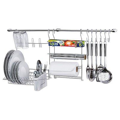 Cook Home Kit 9 Cozinha - 14 x 43 x 100 cm