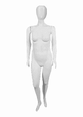 Manequim Plástico R.74114 Feminino Cabeça Ovo Branco