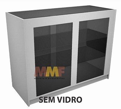 Balcão Vitrine SEM Vidro - 120 x 95 x 50 cm