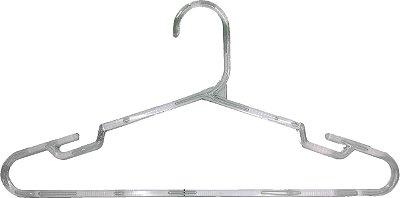Cabide Transparente Gancho C Cavado - 40 x 20 cm