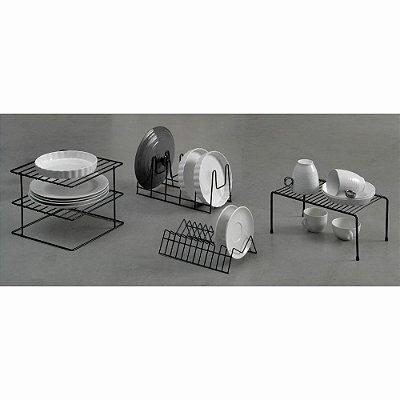 Kit 01 Organizador Aramado Elegance - 4 peças
