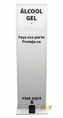 Expositor de Álcool Gel em MDF 15mm