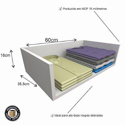 Módulo Prateleira em MDF 60cm